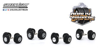 1:64 Auto Body Shop - Wheel & Tire Packs Series 3 - Dually Drivers