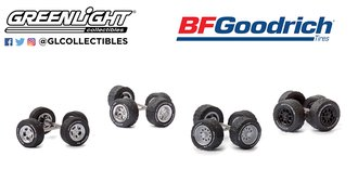 "1:64 Auto Body Shop - Wheel & Tire Packs Series 4 ""BFGoodrich"""