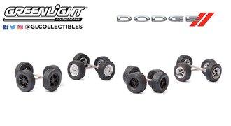 "1:64 Auto Body Shop - Wheel & Tire Packs Series 4 ""Dodge"""