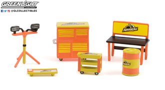 """1:64 Auto Body Shop - Shop Tool Accessories Series 4 """"Armor All"""""""