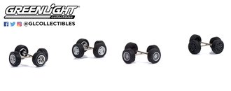 1:64 Auto Body Shop - Wheel & Tire Packs Series 5 - Ford Mustang
