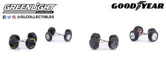 1:64 Auto Body Shop - Wheel & Tire Packs - Goodyear Tires
