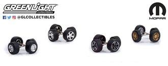 1:64 Auto Body Shop - Wheel & Tire Packs - MOPAR