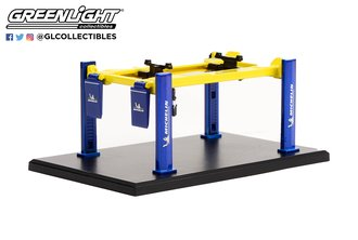 """1:64 Auto Body Shop - Four-Post Lifts Series 3 """"Michelin Tires"""""""