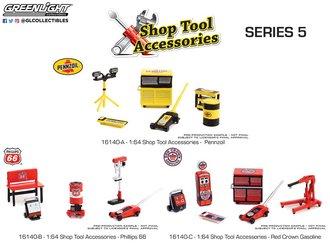 1:64 Auto Body Shop - Shop Tool Accessories Series 5 (Set of 3)