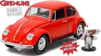 1:24 Gremlins (1984) - 1967 Volkswagen Beetle w/Gizmo Figure