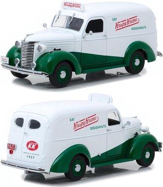 """1:24 Running on Empty - 1939 Chevrolet Panel Truck """"Krispy Kreme Doughnuts"""""""