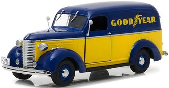 "1:24 Running on Empty - 1939 Chevrolet Panel Truck ""Goodyear Tires"""