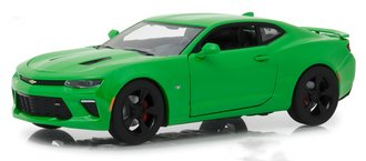 1:24 2017 Chevy Camaro SS (Krypton Green)