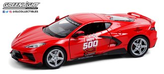 1:24 2020 Chevy Corvette C8 Stingray Coupe - 104th Running of the Indianapolis 500 Official Pace Car