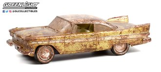 "1:24 1957 Plymouth Belvedere - Desert Gold/White - Tulsa, OK ""Tulsarama"" 2007 Underground Unearthing"