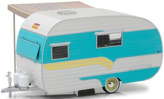 1:24 Hitch & Tow Trailers Series 5 - 1958 Catolac DeVille Travel Trailer