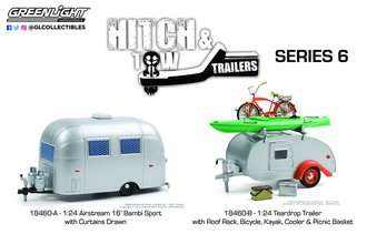 1:24 Hitch & Tow Trailers Series (Set of 2)