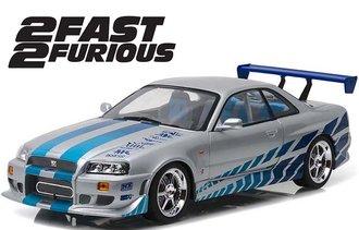 1:18 Artisian Collection - 2 Fast 2 Furious (2003) - 1999 Nissan Skyline GT-R (R34)