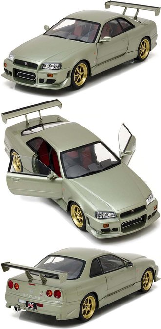 1:18 Artisan Collection - 1:18 1999 Nissan Skyline GT-R (R34) (Millennium Jade)