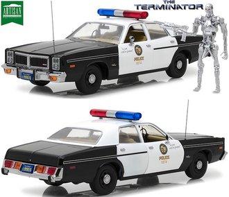 1:18 Artisan - The Terminator - 1977 Dodge Monaco Metropolitan Police w/T-800 Endoskeleton Figure