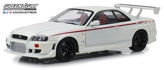 1:18 Artisan Collection - 1999 Nissan Skyline GT-R (R34) (Pearl White)