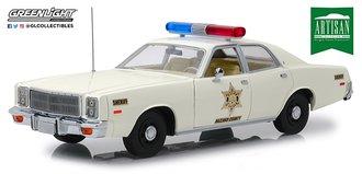 "1:18 Artisan Collection - 1977 Plymouth Fury ""Hazzard County Sheriff"""