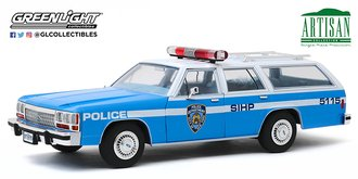 "1:18 Artisan Collection - 1988 Ford LTD Crown Victoria Wagon ""New York City Police Dept"" (NYPD)"