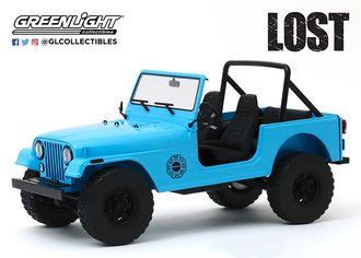 "1:18 Artisan Collection - Lost (2004-10 TV Series) 1977 Jeep CJ-7 ""Dharma"" Jeep"