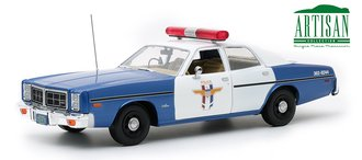 "1:18 Artisan Collection - Friday the 13th (1980) 1978 Dodge Monaco Police ""Crystal Lake Police"""