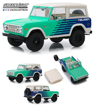 "1:18 Artisan Collection - 1976 Ford Bronco ""Falken Tires"""