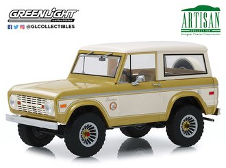 1:18 Artisan Collection - 1976 Ford Bronco - Colorado Gold Rush Bicentennial Special Edition