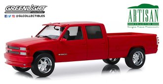 1:18 Artisan Collection - 1997 Chevrolet 3500 Crew Cab Silverado Pickup (Victory Red)