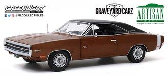 1:18 Graveyard Carz (Current TV Series) 1970 Dodge Charger R/T (Drk Burnt Orange Poly w/Blk Roof)