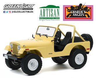 1:18 Artisan Collection - Charlie's Angels (1976-81 TV Series) 1980 Jeep CJ-5