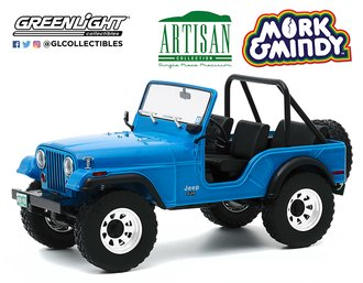 1:18 Artisan Collection - Mork & Mindy (1978-82 TV Series) 1972 Jeep CJ-5