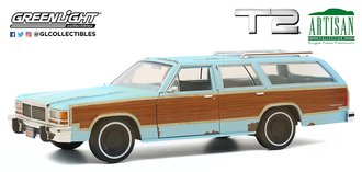 "1:18 Artisan Collection ""Terminator 2: Judgment Day (1991)"" 1980 Ford LTD Country Squire"