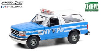 "1:18 Artisan Collection - 1992 Ford Bronco ""New York City Police Department (NYPD)"""