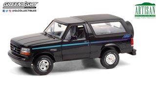 "1:18 Artisan Collection - 1992 Ford Bronco ""Nite Edition"" (Black w/Multicolor Stripe)"