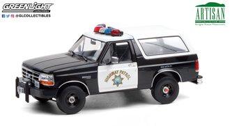 "1:18 Artisan Collection - 1995 Ford Bronco ""California Highway Patrol"""