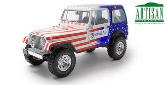"1:18 Artisan Collection - 1982 Jeep CJ-7 ""Santini Air"""