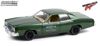 1:18 Artisan Collection - Beverly Hills Cop (1984) - 1976 Plymouth Fury Checker Cab 069 WO. 3-7000