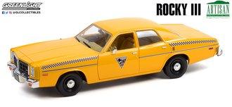 1:18 Artisan Collection - Rocky III (1982) - 1978 Dodge Monaco - City Cab Co.