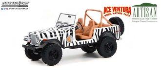 1:18 Artisan Collection - Ace Ventura: When Nature Calls (1995) - 1976 Jeep CJ-7