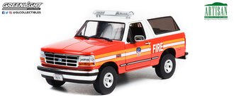 """1:18 Artisan Collection - 1996 Ford Bronco FDNY 'The Official Fire Department City of New York"""""""