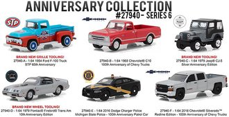 1:64 Anniversary Collection Series 6 (Set of 6)