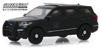 1:64 Black Bandit Series 22 - 2020 Ford Police Interceptor Utility Black Bandit Police