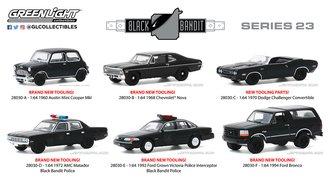 1:64 Black Bandit Series 23 (Set of 6)