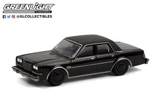 1:64 Black Bandit Series 24 - 1987 Plymouth Gran Fury