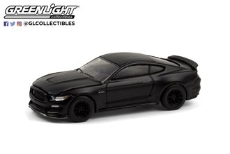1:64 Black Bandit Series 24 - 2016 Ford Mustang Shelby GT350