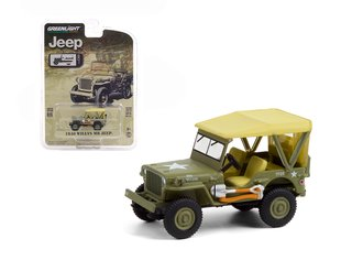 1:64 Anniversary Collection Series 12 - 1940 Willys MB Jeep - Jeep 80th Anniversary