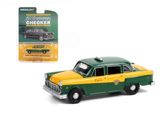 1:64 Anniversary Collection Series 12 - 1960 Checker Marathon A11 - Checker 60 Years