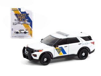 1:64 Anniversary Collection Series 12 - 2021 Ford PI Utility - New Jersey State Police 100th Anniv.