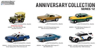 1:64 Anniversary Collection Series 12 (Set of 6)