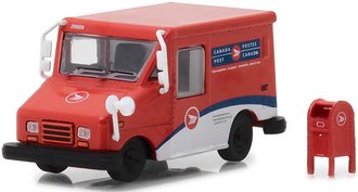 1:64 Canada Post Grumman Long-Life Postal Delivery Vehicle (LLV) w/Mailbox